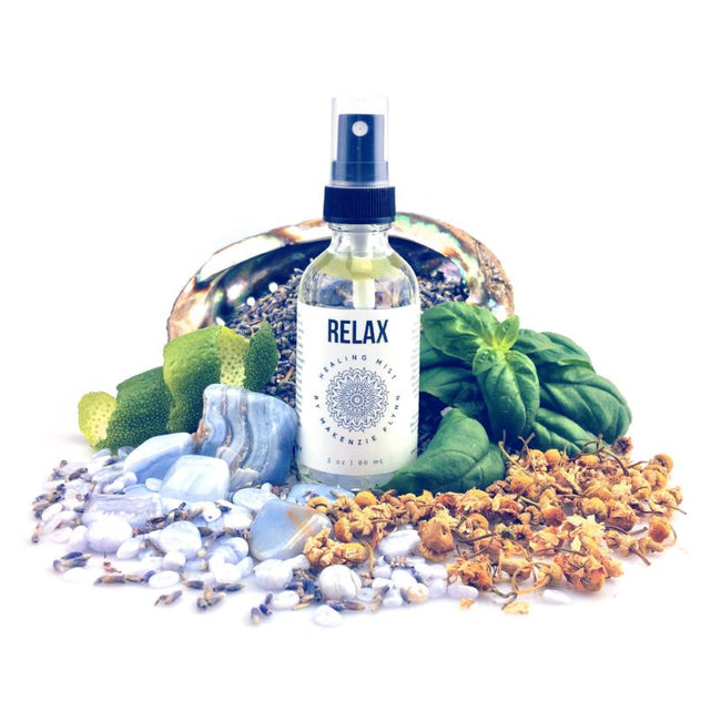 RELAX HEALING MIST - MAKENZIE FLYNN - the_raw_store