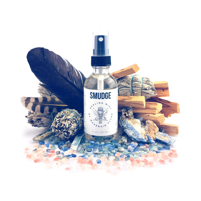 SMUDGE HEALING MIST - MAKENZIE FLYNN - the_raw_store