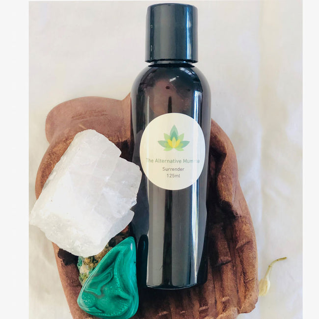 SURRENDER: THE BIRTHING OIL - THE ALTERNATIVE MUMMA