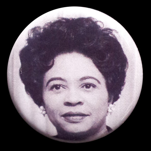 Daisy Bates Pin Back Button Magnet