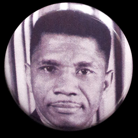Medgar Evers Pin Back Button Magnet