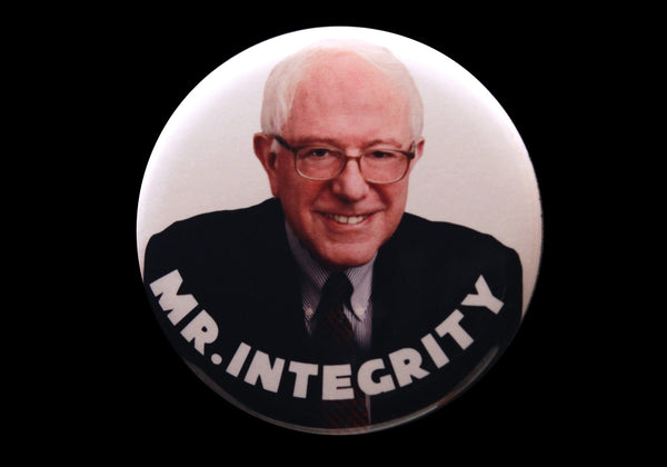 Bernie Sanders Mr. Integrity 2016 campaign button or magnet