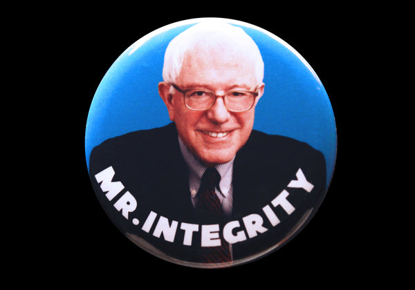 Bernie Sanders 2016 Mr. Integrity campaign button or magnet