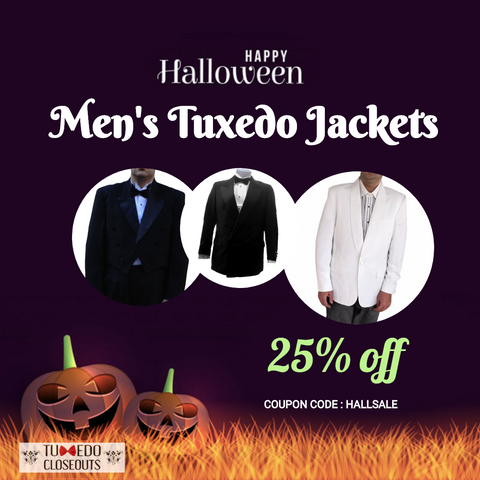 Halloween Mens Retail Tuxedo Jackets Sale