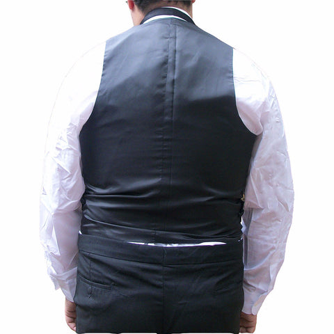 Mens Satin Tuxedo Vest with 6 Buttons
