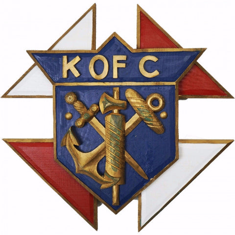 Knights of Columbus Wooden Emblem