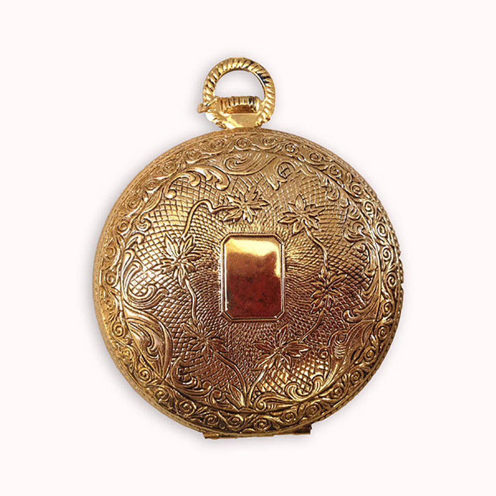 1/2 Dozen Faux Gold Plated Pocket Watches