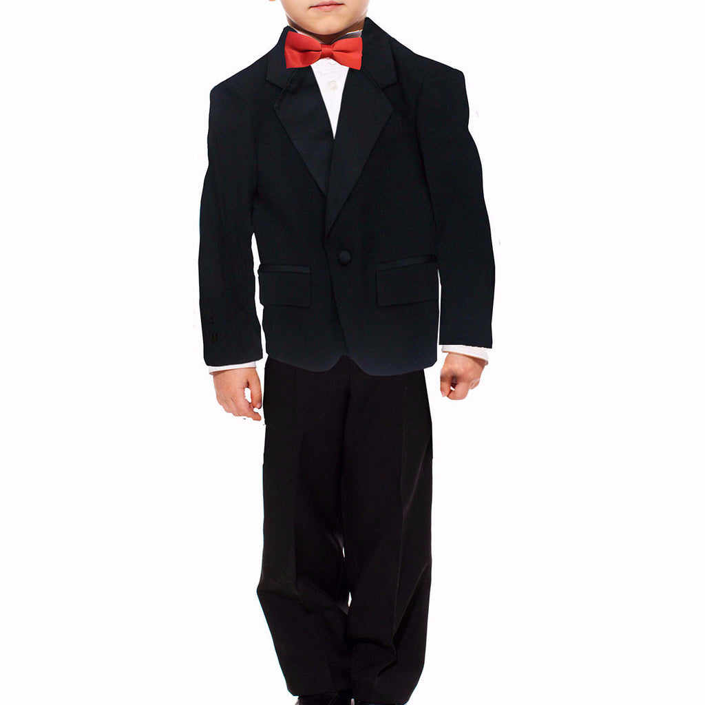 Boys Notch Collar Tuxedo Suit
