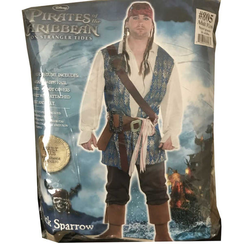 Pirates of the Caribbean on Stranger Tides 5 Piece Adult Costume