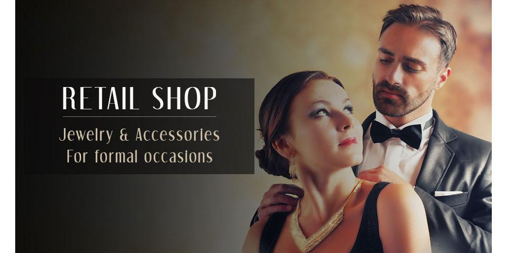 Formal jewelry for men & women