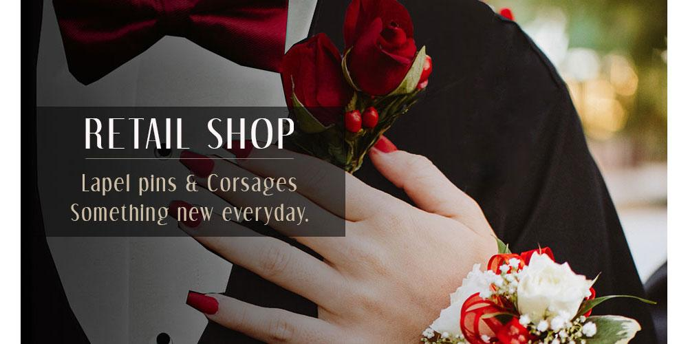 Corsages & lapel pins
