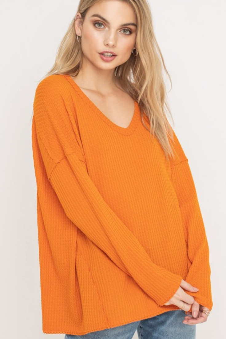 Big Orange Waffle Thermal