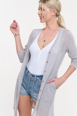 Sliver Summer Cardigan