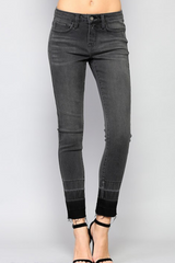 Top Boy Gray Skinny Jeans