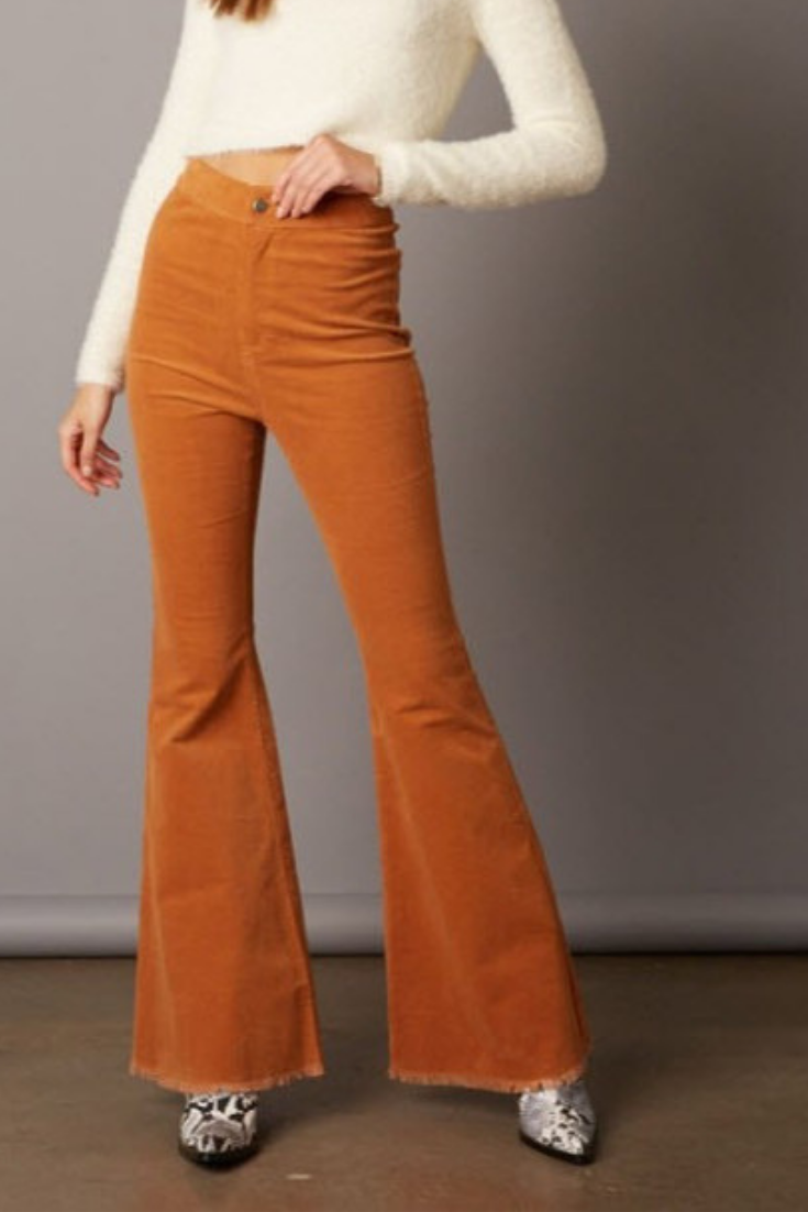 Bell Bottom Corduroy Pant