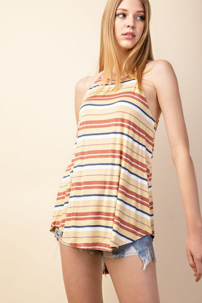 Honey Stripe Tank Top