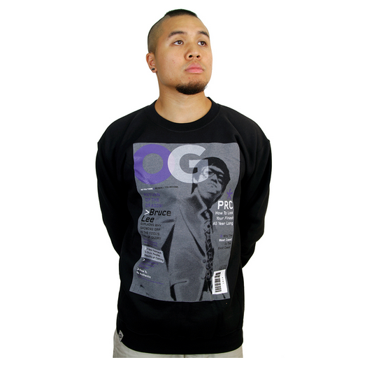 Dope Clothes - Bruce Lee Crewneck Sweatshirt front
