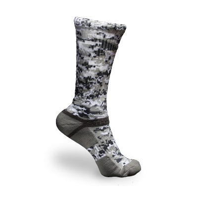 Dope Clothes - Charcoal Digi Camo Socks