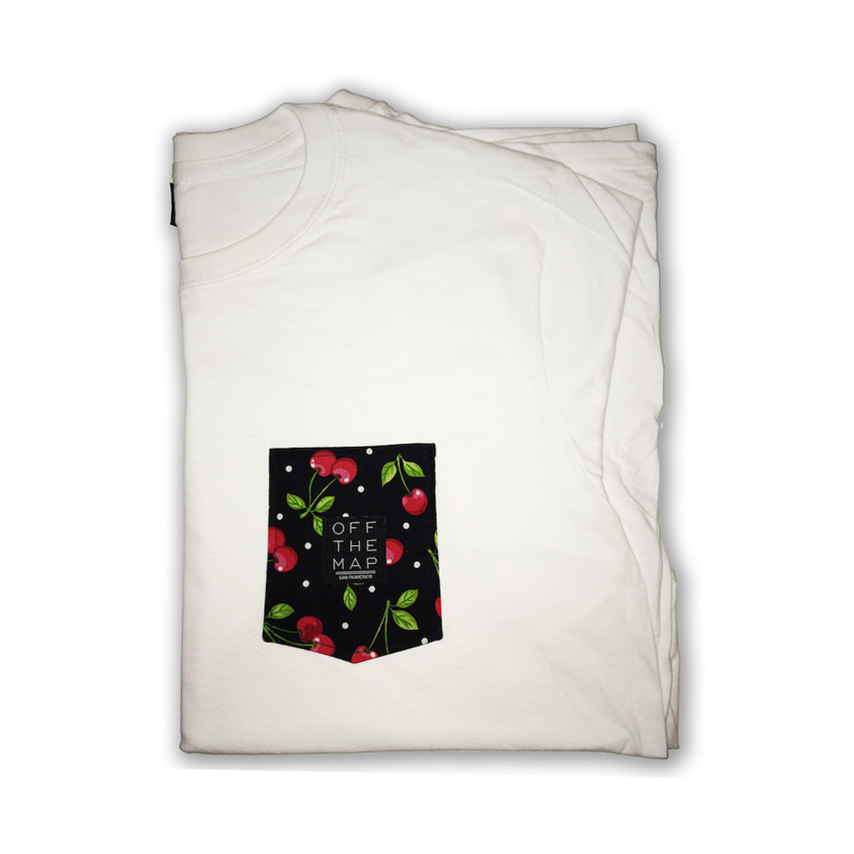 Dope Clothes - Cherry Pocket Tshirt