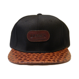 Dope Clothes - Spotted Gator Strapback Hat