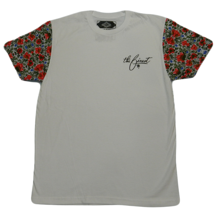 Dope Clothes - Floral Cut and Sew Tshirt