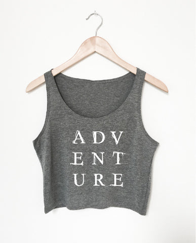 ADVENTURE women's crop top