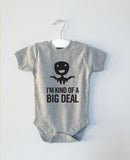 BIG DEAL monster onesie