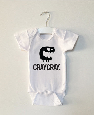 CRAYCRAY monster onesie