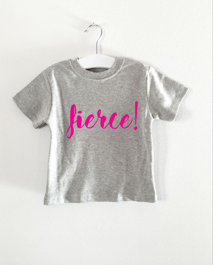 FIERCE word short sleeve tee