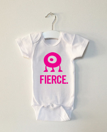 FIERCE monster onesie