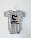 HYPED monster onesie