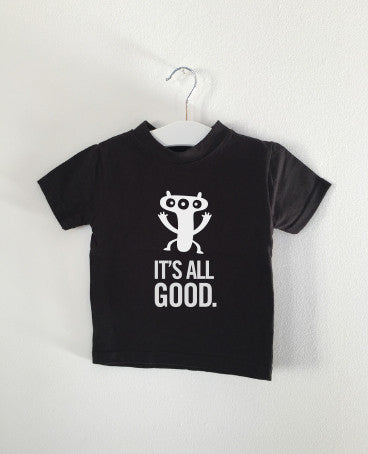 IT'S ALL GOOD monster tee