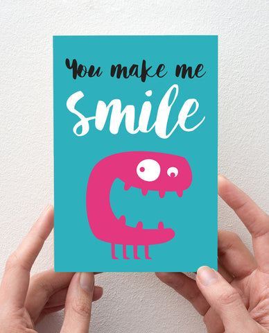 Smile! card