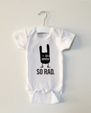 SO RAD monster onesie