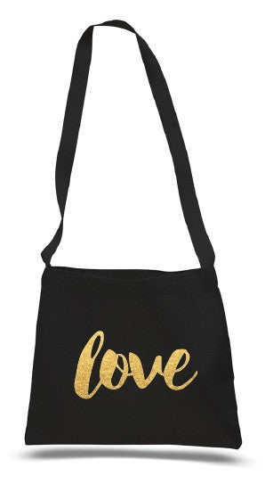 Love messenger bag
