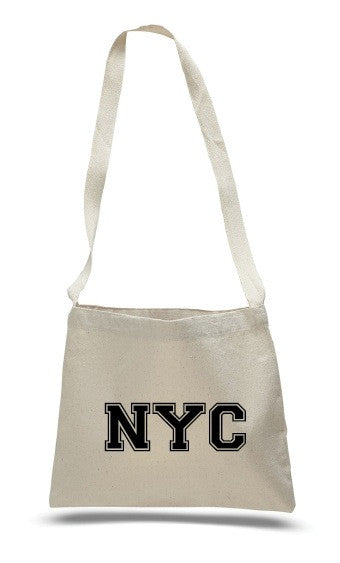 NYC messenger bag