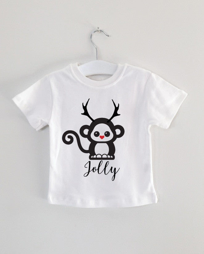 Holliday Monkey tee