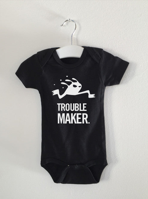TROUBLE MAKER monster onesie