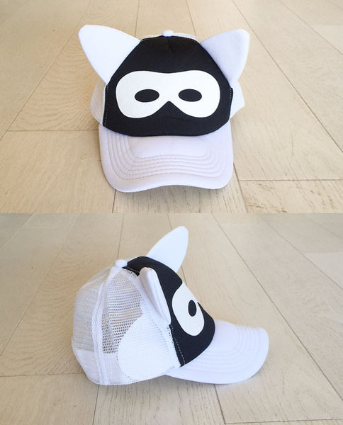 MASK hat - white