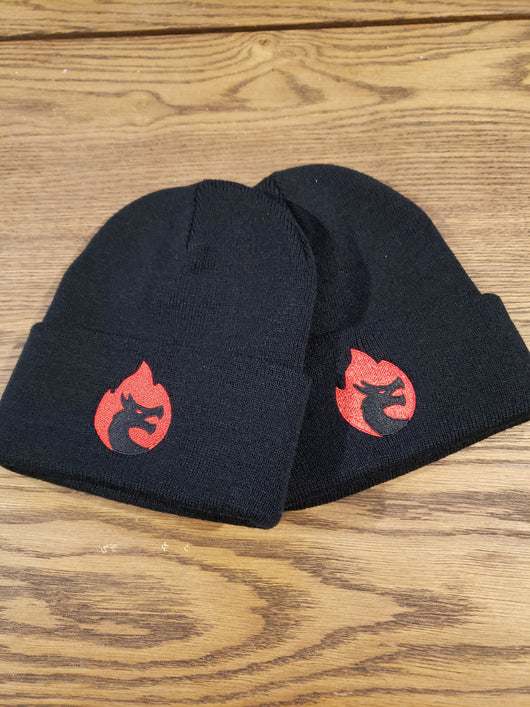 Kruzadar Beanie - Embroidered Logo on Flap
