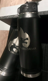 Kruzadar Laser Engraved 32oz Water Bottle