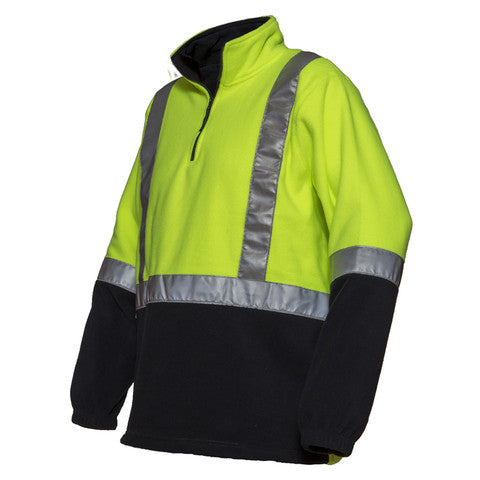 KPH Transport polar fleece Lime/Navy