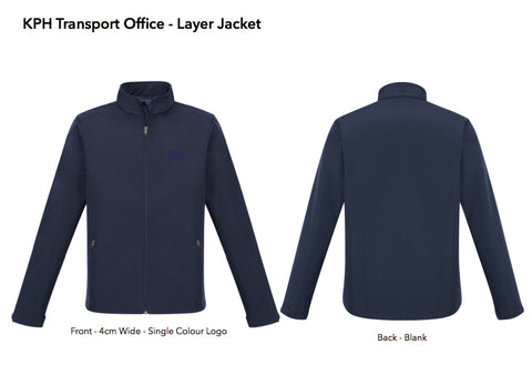 KPH Office Layer Jacket Navy