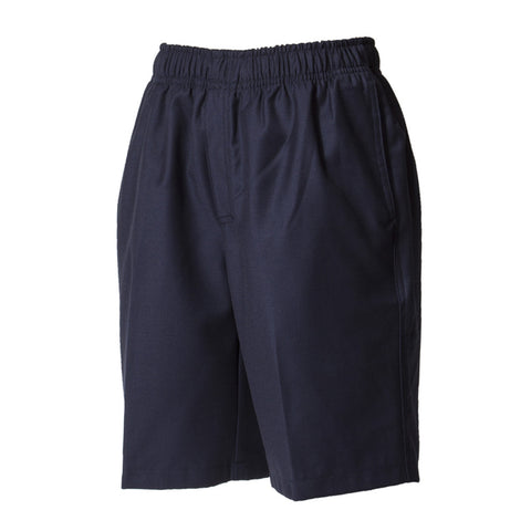 Plain Poly/Cotton Shorts