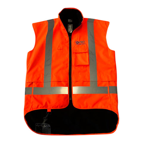 PBT Hi Vis Polar Fleece Vest