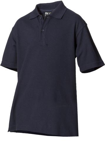 210gsm Plain Poly/Cotton Polo Short Sleeve