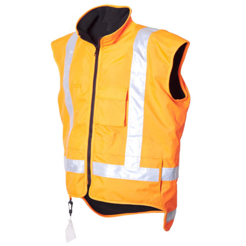Day/Night Lined Vest TTMC Orange