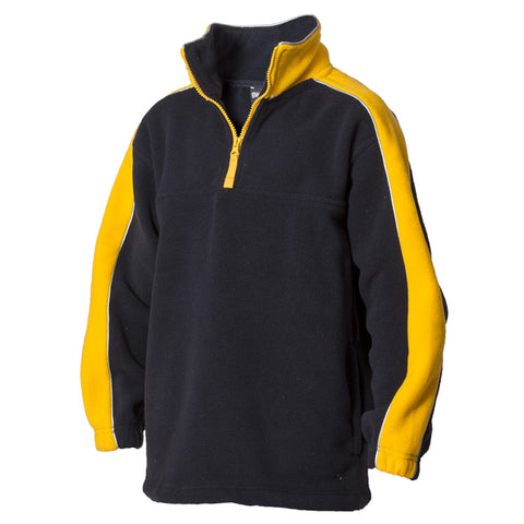 1/2 Zip Contrast Polar Fleece