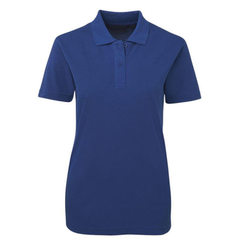 Womens Blue Polo