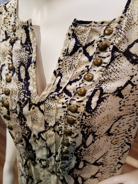 Angie Studded Blouse - FashionFunPop, Trendy, fashion, plus, skinny, fitted, ripped, dress, dresses, tops, blazers, women, clothing, bathing suits, swimwear, vacation, stylish, jewelry, accessories, handbags, shoes, boutique, shopping, store, clutch, clutches, handbag, blouses, mom, mommy, tee, tees, jeans,   pants, maxi, maxies, rompers, jumpers, sexy, clearance, new, sales, mika rose, she and sky, &, blvd, in style, esley, gilli, blu pepper, earrings, bracelets, bangles, statement, necklaces, scarfs, gloves, ripped, sweaters, bikini, tankini, one piece, stop staring, gowns, prom dresses, wedding dresses, wedding, prom